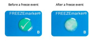 FREEZEmarker freeze indicator