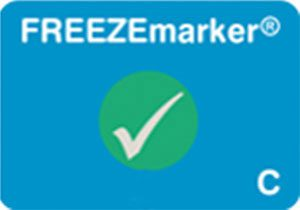 FREEZEmarker C freeze indicator, cold chain, shipment monitoring, Temptime