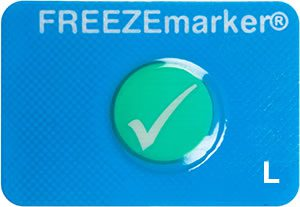 FREEZEmarker L freeze indicator, cold chain, shipment monitoring, Temptime