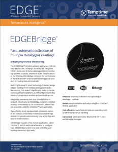 EDGEBridge Wireless LoRa Gateway