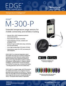 EDGE M-300-P extended range wireless temperature sensor datasheet