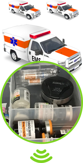 EMS medication storage temperature