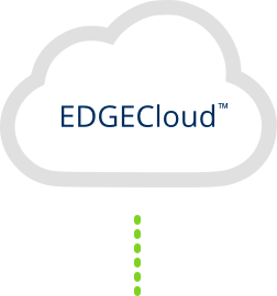 Push Data to EDGECloud for virtual storage and access with EDGEVue web application