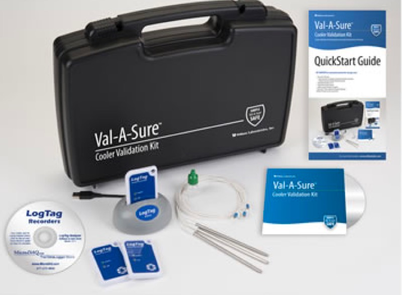 Val-A-Sure Cooler Validation Kit