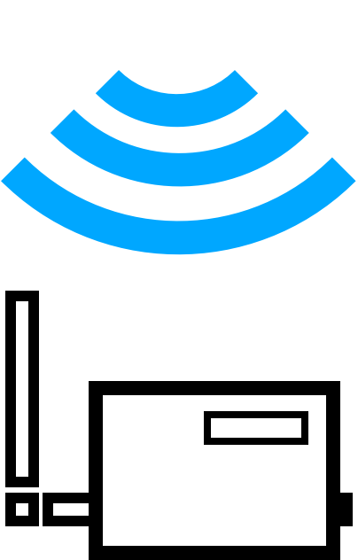 Illustration of wireless gateway
