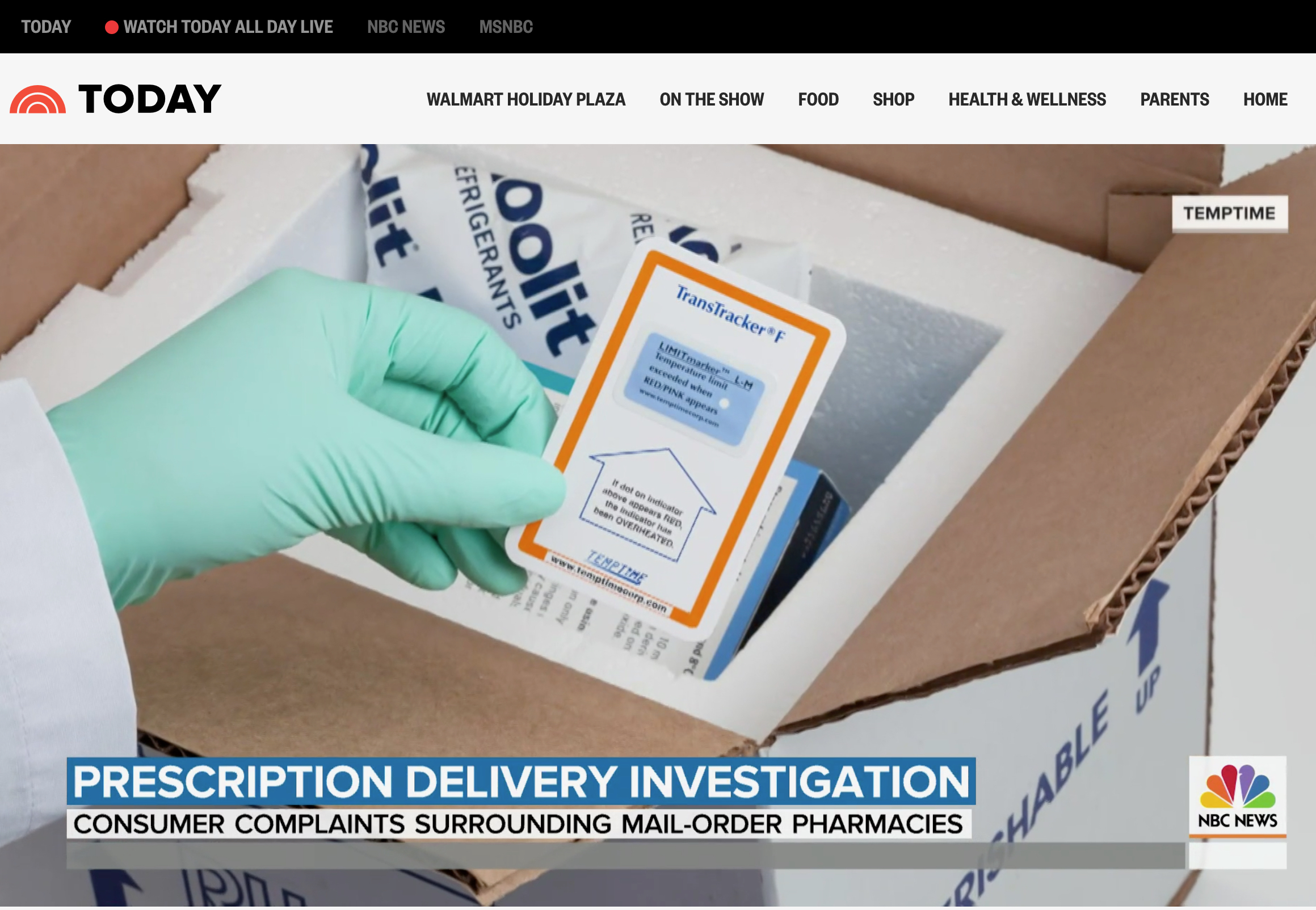 NBC News story investigates safety of mail-order medication