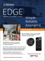 EDGE M-300 and EDGEVue mobile app to monitor temperature, track excursions and share data